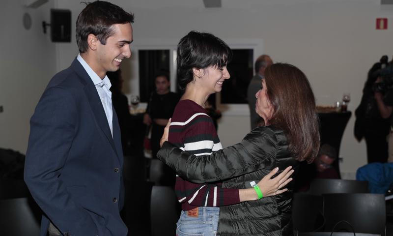 Los hijos de Concha García Campoy homenajean a su madre en el aniversario de su muerte