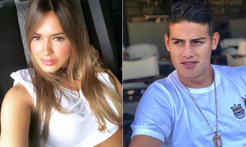 Shannon de Lima y James Rodríguez, una relación que marcha viento en popa