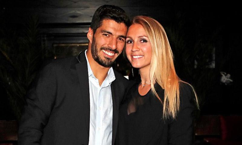 La primera foto del hijo recién nacido del futbolista Luis Suárez