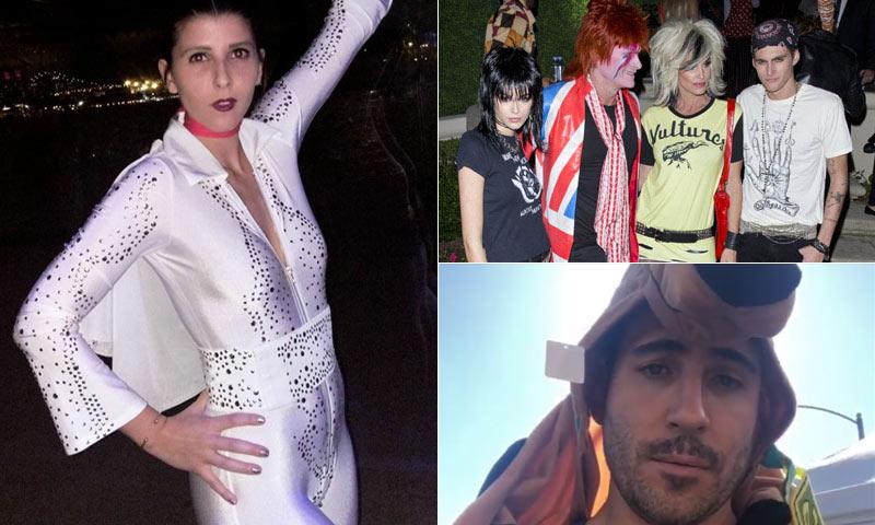 FOTOGALERÍA: Miembros de la realeza, 'celebrities' y 'top models' dan la bienvenida a Halloween
