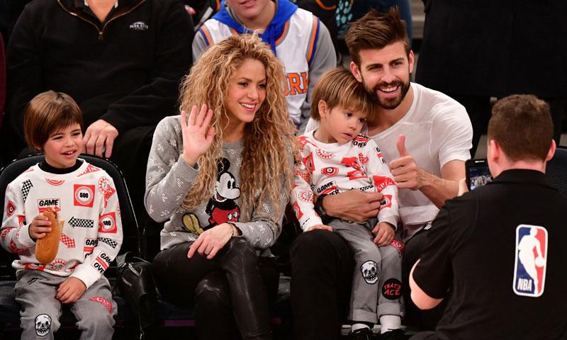 Los hijos de Shakira y Gerard Piqué, 'hinchas' de un equipo que no es el de papá