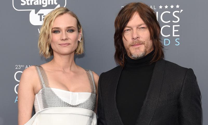 Diane Kruger y Norman Reedus se convierten en padres de su primer hijo en común