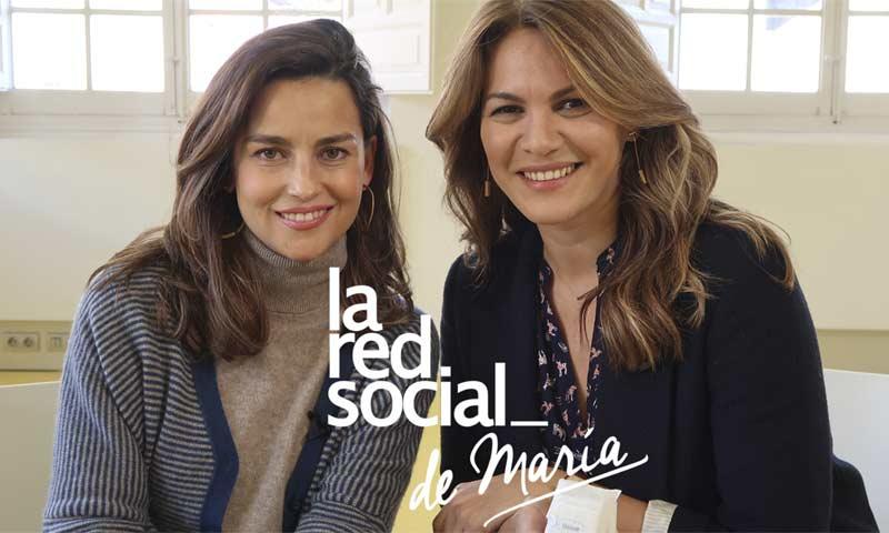La salud de su hijo Kike, su reboda con Bertín...Fabiola Martínez, en 'La Red Social' de María Palacios