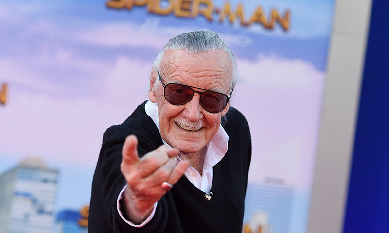 Emotiva despedida de los 'superhéroes de Marvel' a su creador, Stan Lee