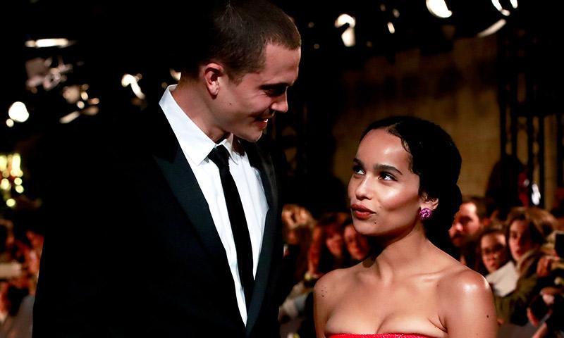 ¡Se casan! Zoë Kravitz hace oficial su compromiso con Karl Glusman