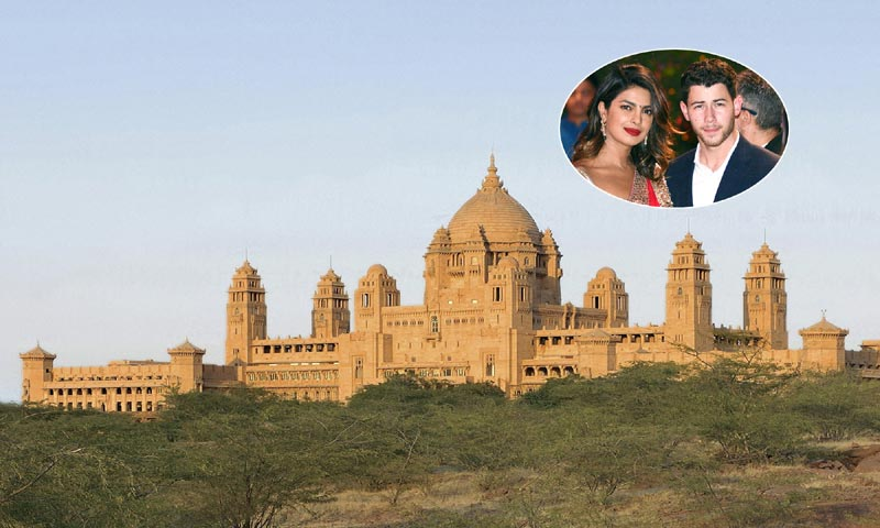 FOTOGALERÍA: El espectacular palacio en el que Nick Jonas y Priyanka Chopra celebrarán su boda