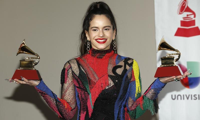 Rosalía se corona como la reina de los Grammy Latinos