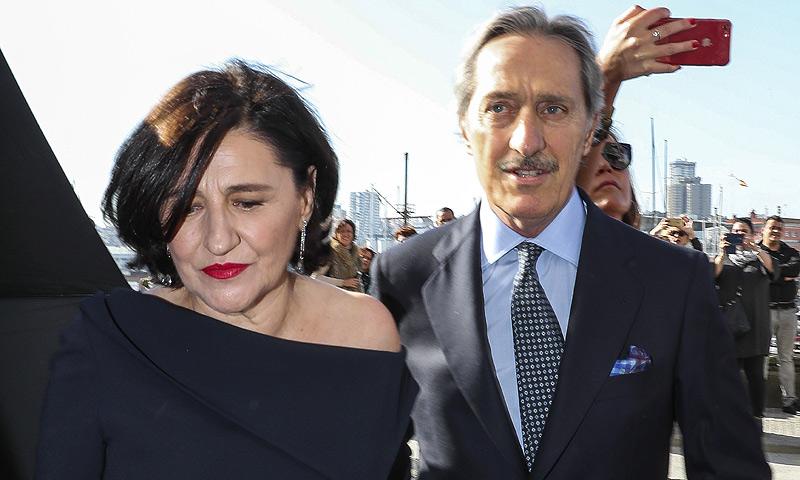 Los familiares de Marta Ortega y Carlos Torretta asisten a la ceremonia en casa de la novia