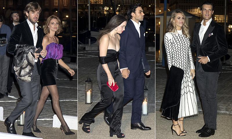 FOTOGALERÍA: los invitados al cóctel nupcial en el Real Club Náutico de La Coruña