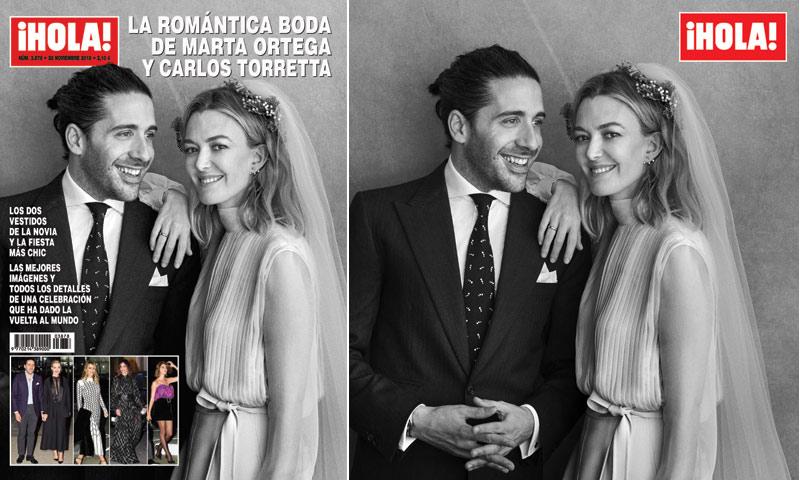La revista ¡HOLA! adelanta su edición con motivo de la boda de Marta Ortega y Carlos Torretta