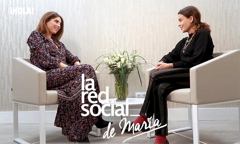 La Red Social de María: Lourdes Montes revela cómo lleva la recta final de su embarazo