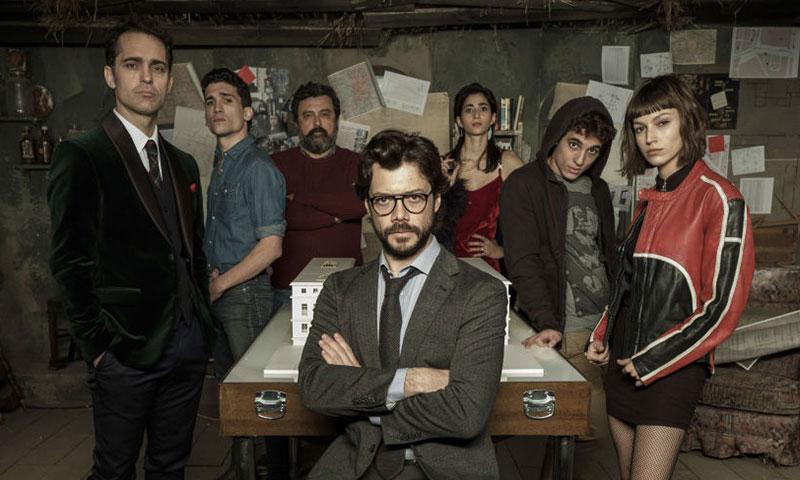 'La Casa de Papel' hace historia en los Premios Emmy