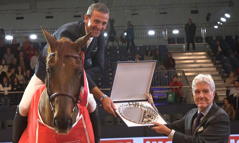 No te pierdas los grandes saltos del Premio ¡HOLA! en la Madrid Horse Week