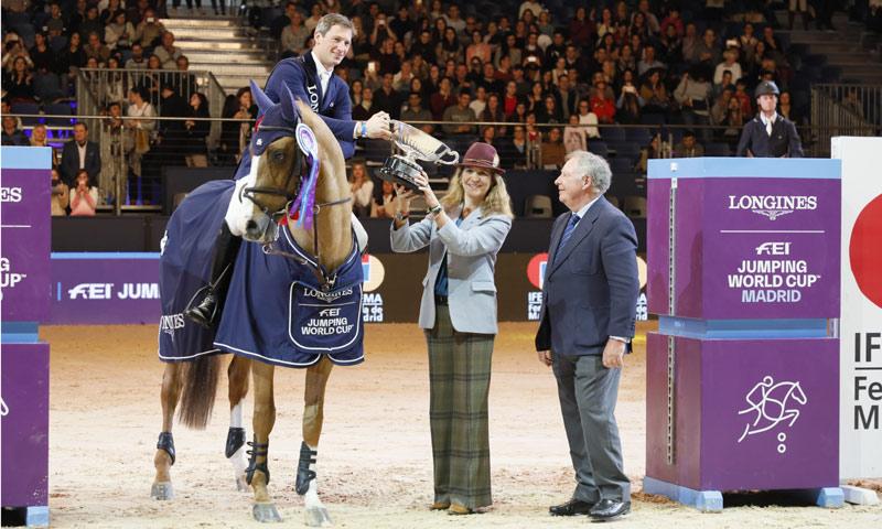 La Madrid Horse Week, el motivo por el que la infanta Elena no ha acompañado a su padre a la F1