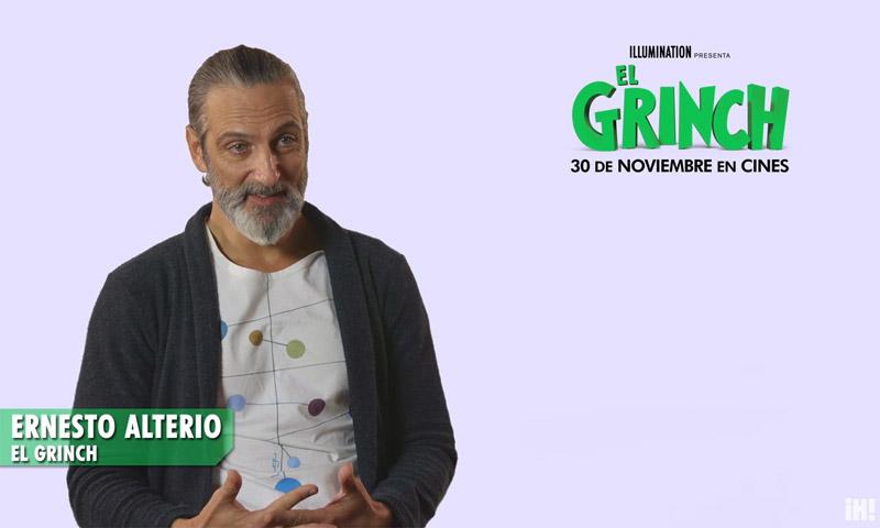 La divertida sesión de doblaje de Ernesto Alterio como 'El Grinch'