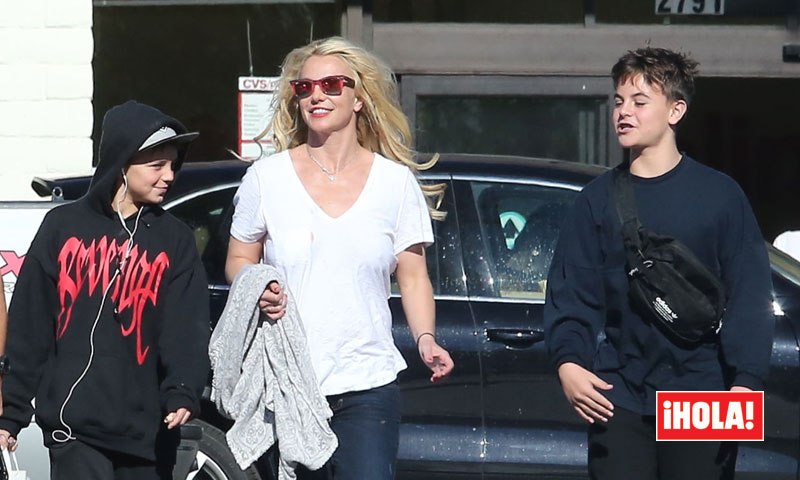 ¡Cómo han crecido! Los hijos de Britney Spears están hechos unos hombrecitos