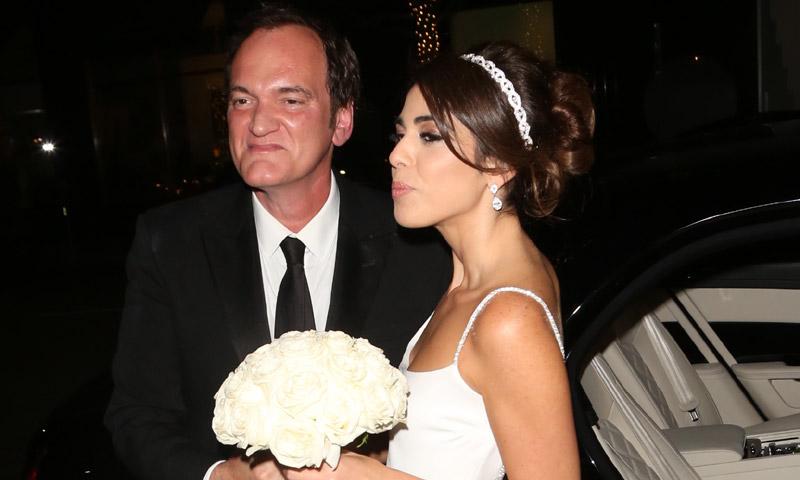 La boda sorpresa de Quentin Tarantino y Daniella Pick en los Ángeles