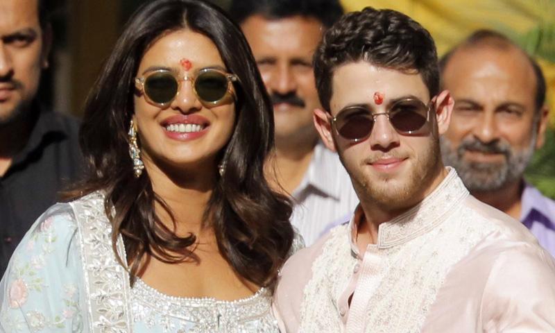 Comienzan las exóticas celebraciones de la boda de Priyanka Chopra y Nick Jonas