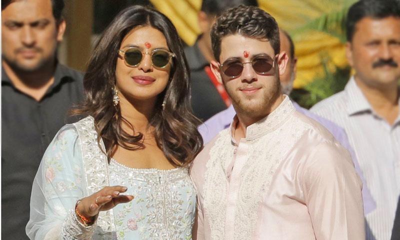 Priyanka Chopra y Nick Jonas ya son marido y mujer