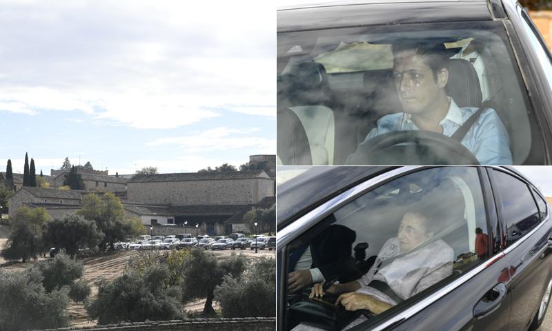 Así ha sido la llegada de los invitados a la boda de Alejandra de Rojas y Beltrán Cavero