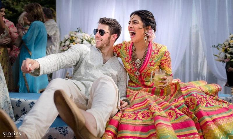 Priyanka Chopra comparte las primeras imágenes de su boda con Nick Jonas