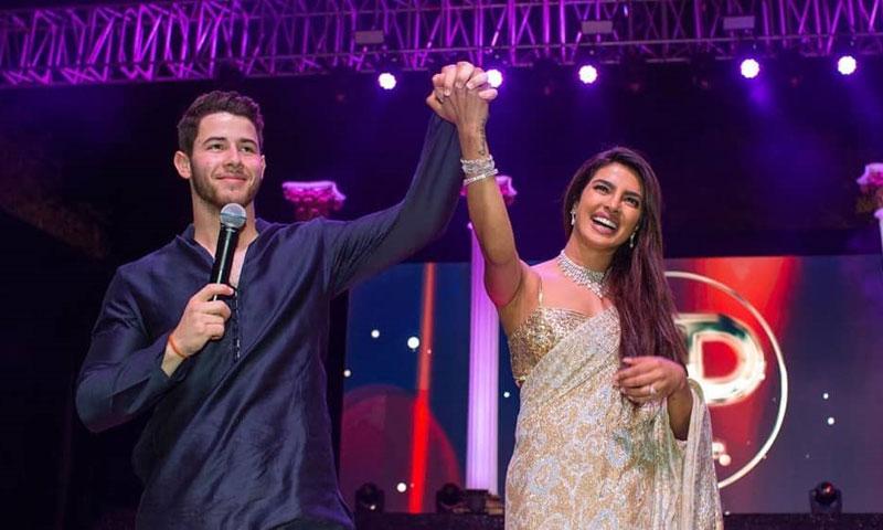 ¡Al más puro estilo Bollywood! La gran fiesta de Priyanka Chopra y Nick Jonas antes de su boda hindú