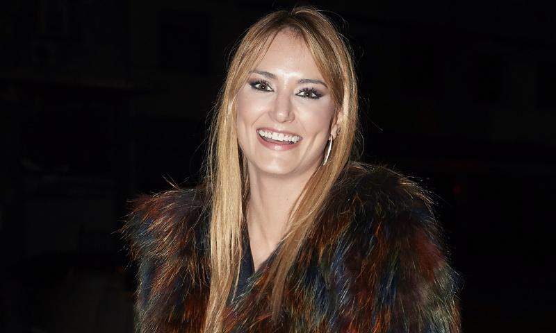 Alba Carrillo, feliz tras solucionar sus problemas judiciales con Feliciano López
