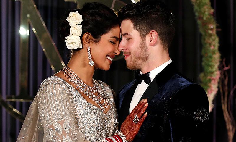 La exuberante recepción de boda de Nick Jonas y Priyanka Chopra