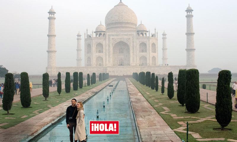 En ¡HOLA!, las imágenes del exótico viaje de novios de Marta Ortega y Carlos Torretta a la India