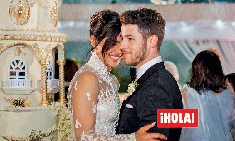 Exclusiva en ¡HOLA!, la fabulosa boda 'de marajás' de Nick Jonas y Priyanka Chopra