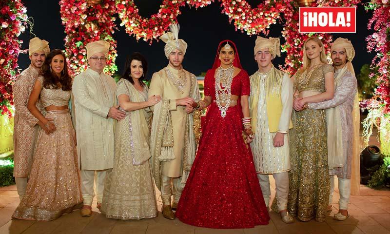EXCLUSIVA: De 'Las mil y una noches' a Hollywood, las fiestas nupciales de Priyanka Chopra y Nick Jonas
