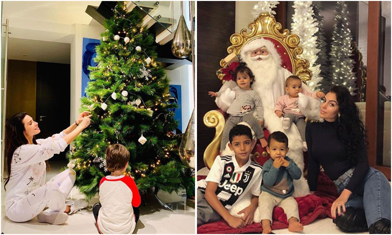 Los famosos presumen de árbol de Navidad, ¿Cuál te gusta más?
