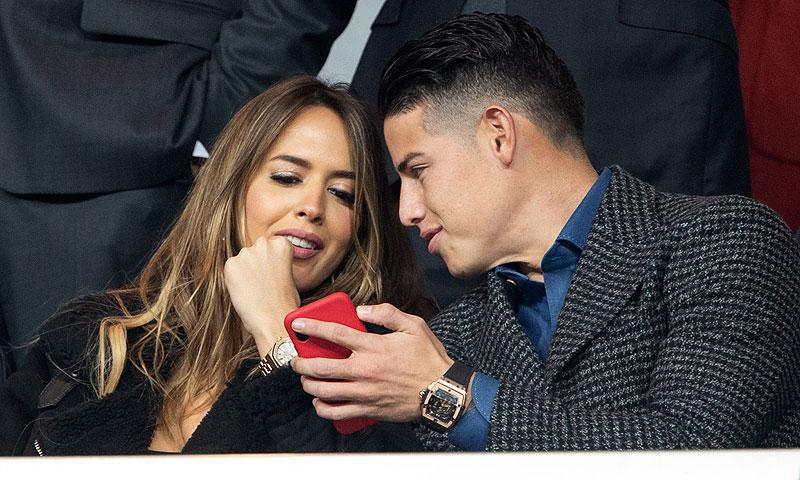 Las fotografías que confirman la relación de James Rodríguez con la modelo Shannon de Lima