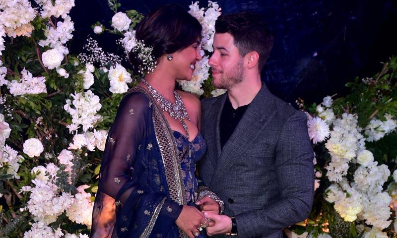 Nick Jonas y Priyanka Chopra siguen celebrando su boda, dos semanas después