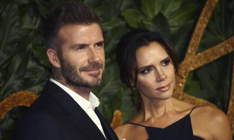 La escapada navideña de David y Victoria Beckham con sus cuatro hijos