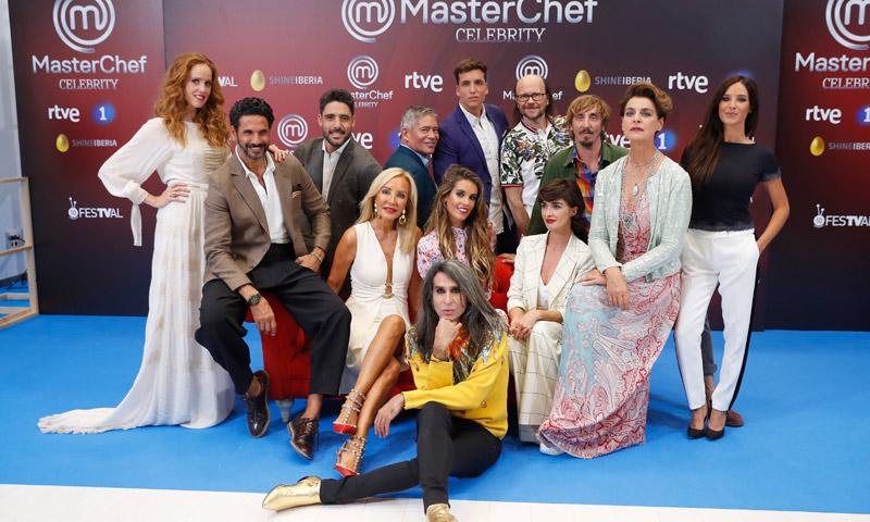 Carmen Lomana cocina para sus compañeros de MasterChef Celebrity en una divertida fiesta