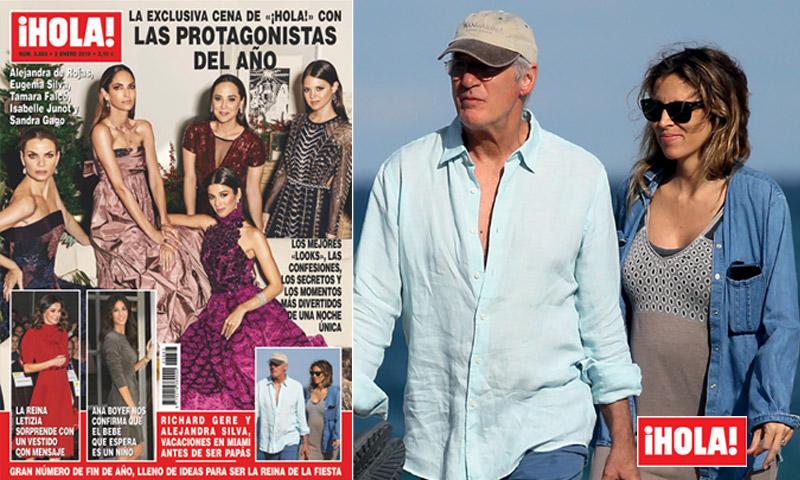 En ¡HOLA!: Richard Gere y Alejandra Silva, vacaciones en Miami antes de ser papás