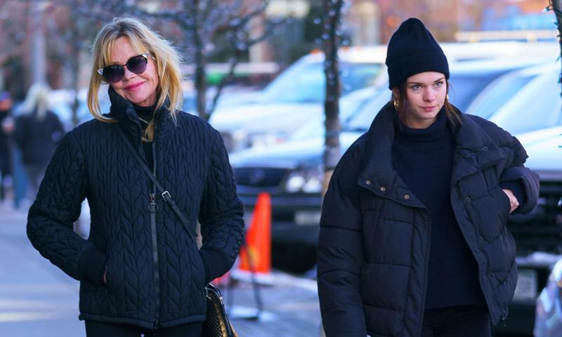 Las vacaciones de Melanie Griffith y Stella en Aspen, refugio también de otras 'celebrities'