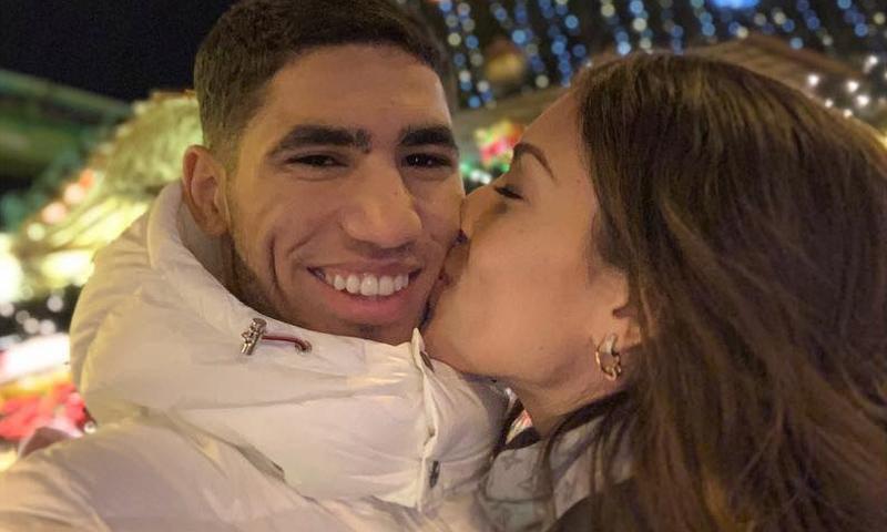 La escapada más exótica de Hiba Abouk y Achraf Hakimi en sus primeras navidades juntos