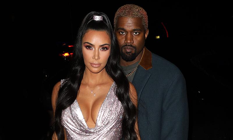 Kim Kardashian y Kanye West van a ser padres por cuarta vez