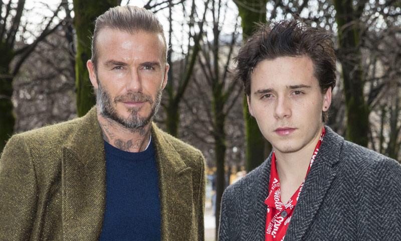 David y Brooklyn Beckham, un dúo con mucho ritmo que conquista las redes con su baile