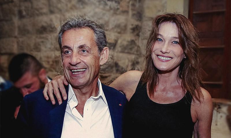 Carla Bruni se deshace con la imagen más 'canalla' de Sarkozy