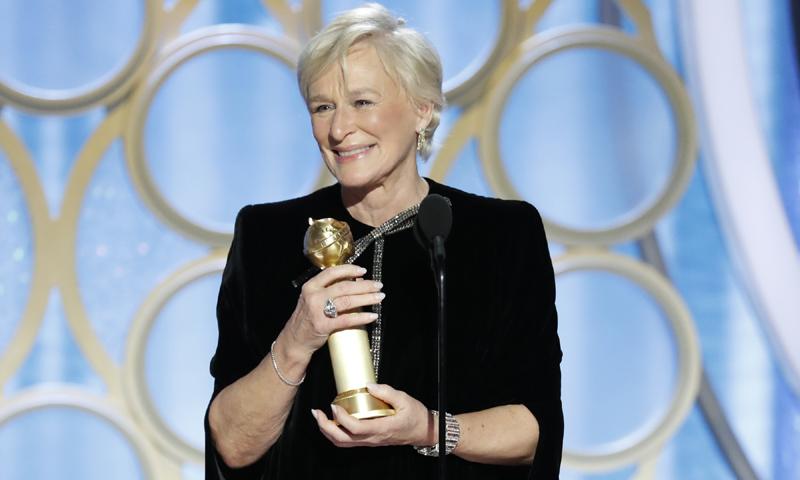 El reivindicativo discurso de Glenn Close en los Globo de Oro que levantó al público de sus butacas