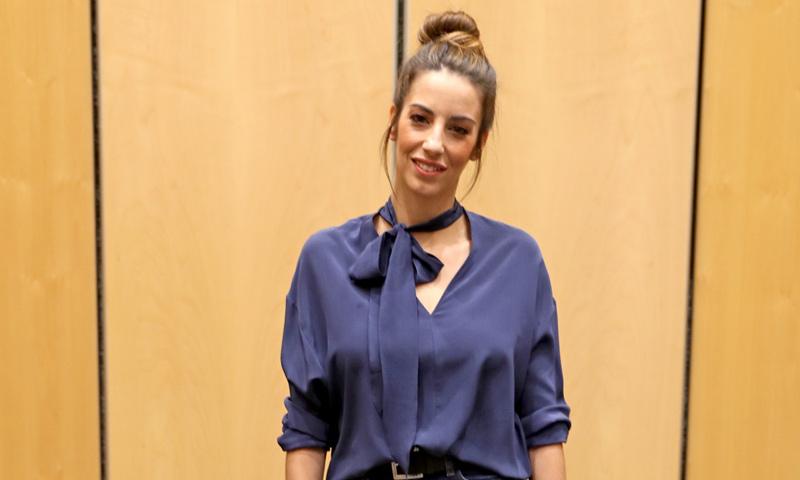 Almudena Cid estrena emocionada un nuevo proyecto teatral junto a Toni Cantó