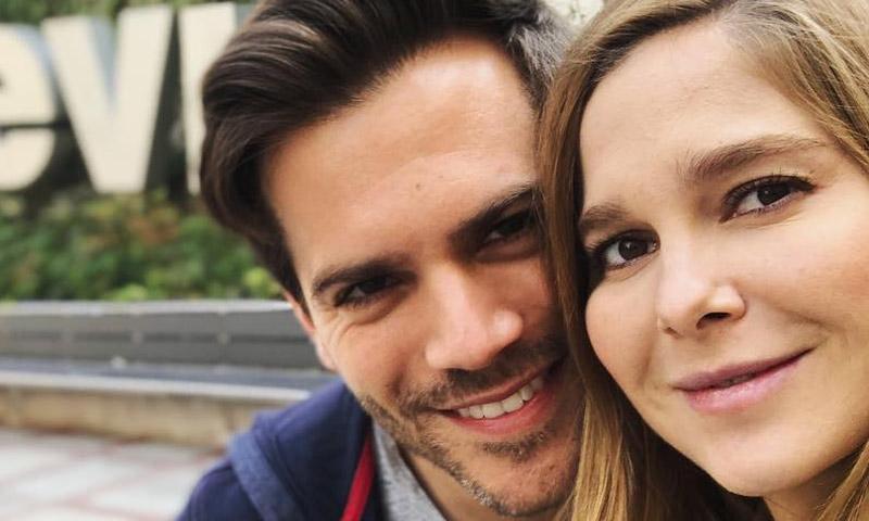 Natalia Sánchez y Marc Clotet han sido padres de su primera hija