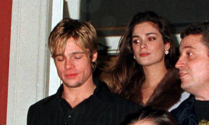 Las fotografías del encuentro de Mar Saura y Brad Pitt en 1997