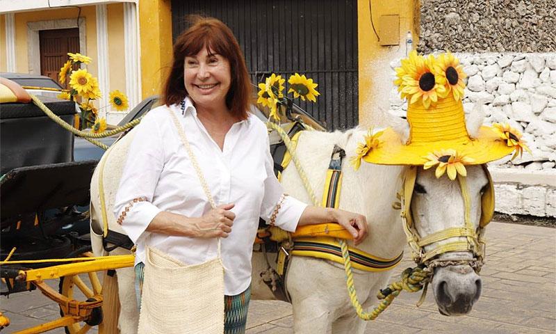 Carmen Martínez Bordiú ya se encuentra en México para asistir a la boda de su sobrino Javier Ardid