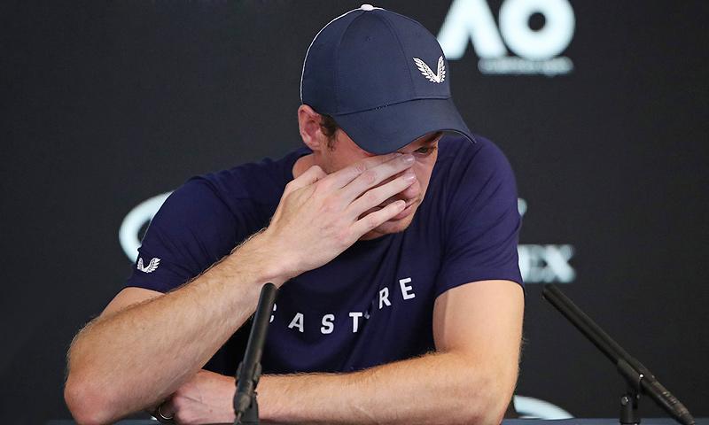 Las lágrimas de Andy Murray al anunciar su retirada