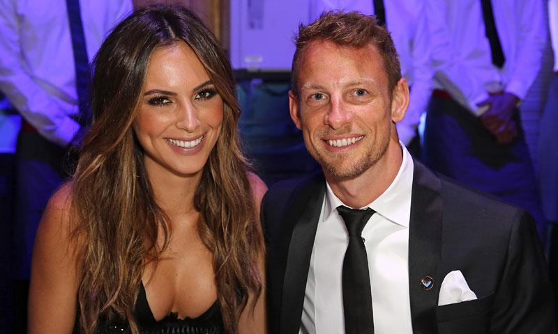 Jenson Button, expiloto de Fórmula Uno, anuncia su próxima paternidad con esta simpática imagen