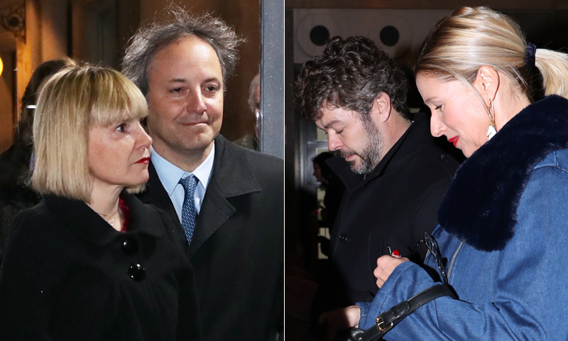 Eugenia Martínez de Irujo y Narcís Rebollo, Anne Igartiburu y Pablo Heras-Casado... noche de parejas en el Teatro Real